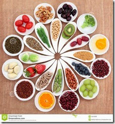 health-food-platter-large-selection-white-porcelain-bowls-dishes-over-papyrus-background-32243866