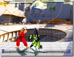 Dragonball vs Street Fighter 3 fan game pic3