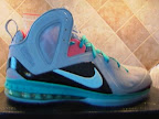 nike lebron 9 ps elite grey candy pink 2 07 LeBron 9 P.S. Elite Miami Vice Official Images & Release Date