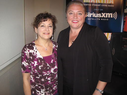 Vegan and vegetarian food expert, Nava Atlas, with Virginia Willis on