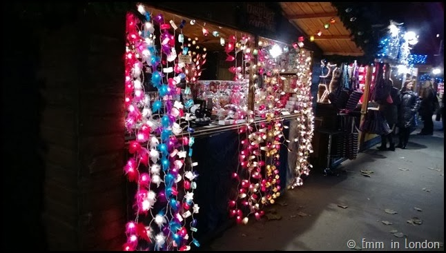 Southbank Christmas Market garlands