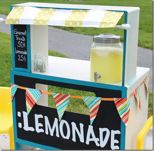 Just Sew Sassy - lemonade stand