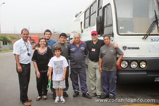 con Juan Calle y Esteban Quito