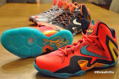 nike lebron 11 ps upcoming colorways 3 02 Another Teaser Look at Nike LeBron XI P.S. Elite Upcoming Styles