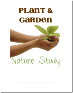 Plant & Garden Nature Study Binder Cover