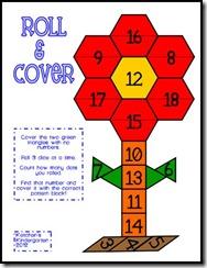 Ketchen's Kindergarten: Math Stations–April Style