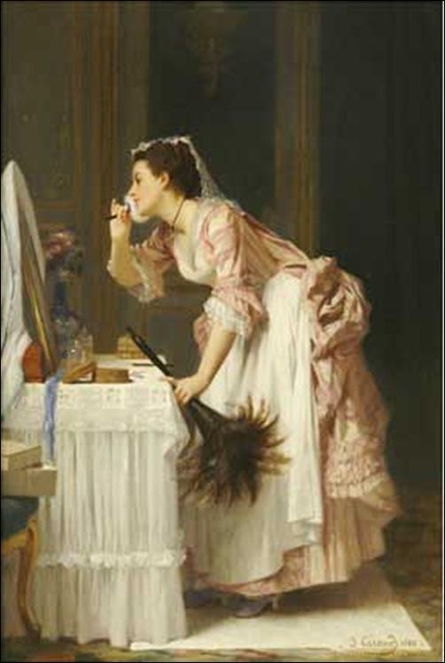 Joseph caraud, Femme de chambre
