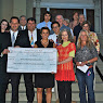 $250,000 Check Presentation: Brewster Theatre