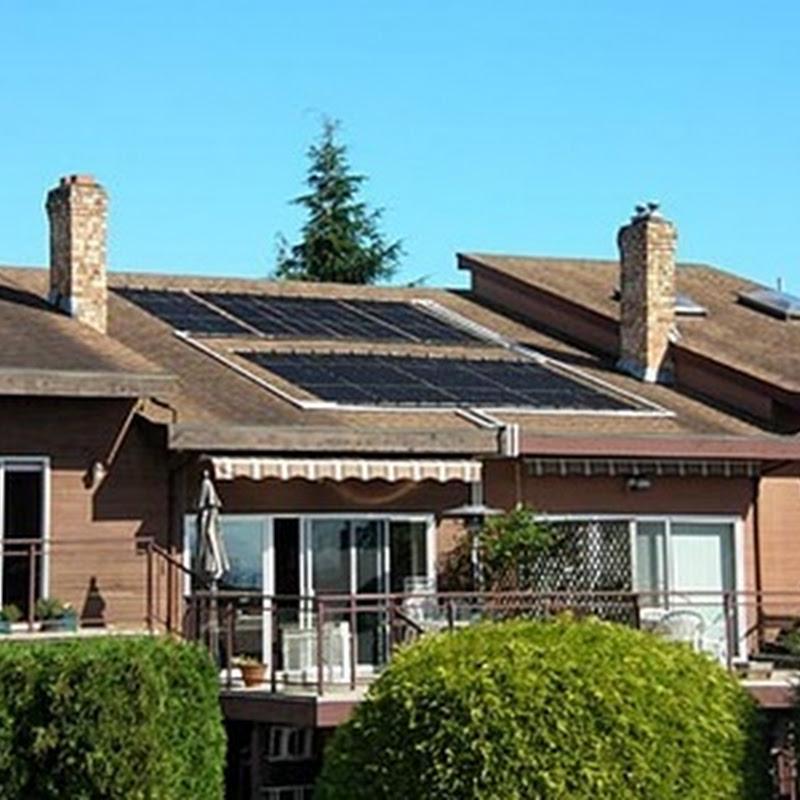Instalación solar fotovoltaica en vivienda particular que asegura una producción desde el amanecer al atardecer
