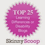 Skinny Scoop Top 25 Learning Differences or Disability Blogs