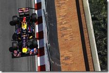 Vettel nelle qualifiche del gran premio di Monaco