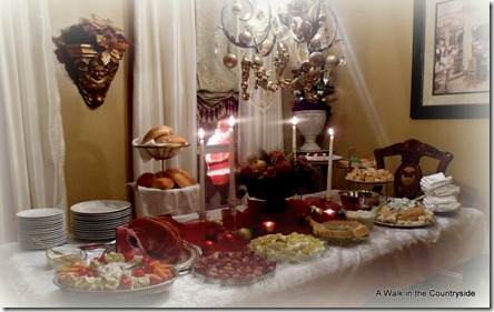 A Walk In The Countryside: Christmas Open House Buffet
