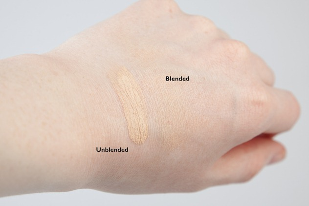 revlon nearly naked foundation review ivory swatches 2