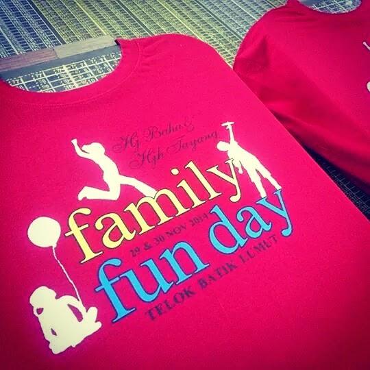 Telaga Bakti Supplier T Shirt Family Day