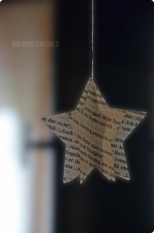 literarischer Papierstern