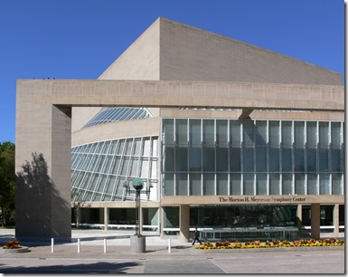Morton H Meyerson Symphony Center Designed by I