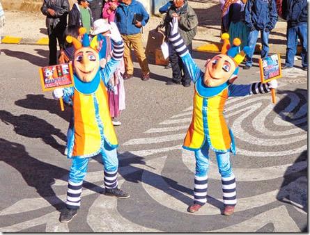 Educación vial en El Alto