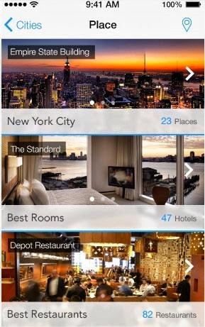 19 increíbles interfaces de aplicaciones móviles hechas para iOS 7 12