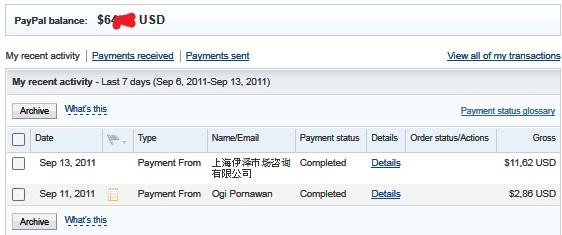 Bukti Pembayaran Ipanelonline.com (Pembayaran Ke-6) dan Bukti Pembayaran Adsensecamp.com (Pembayaran Ke-3)