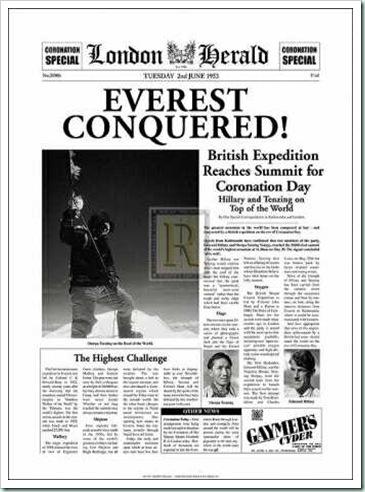 everest headline