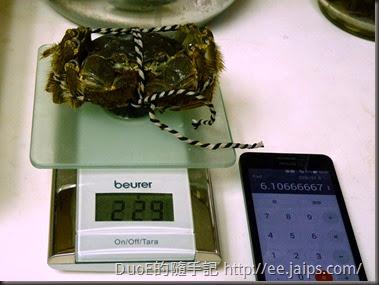 江蘇超A級爆膏大閘蟹-重量1