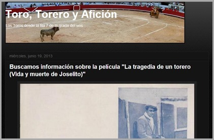 2013-06-19 La tragedia de un torero (Toro-torero y aficion)