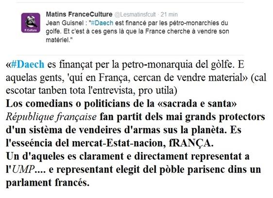France Culture entrevista