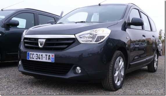 Dacia Lodgy testdagen 26