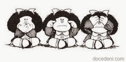 mafalda não vê