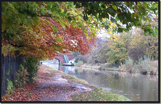 The Bridgewater Canal and Marsland Bridge