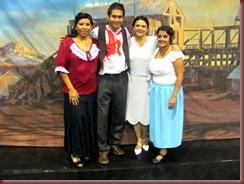 CLAUDIO,YEKA,COTE Y FABY
