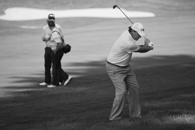 BW Phil Mickelson at 2011 US Open