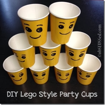 Lego Duplo House Party obSEUSSed cups