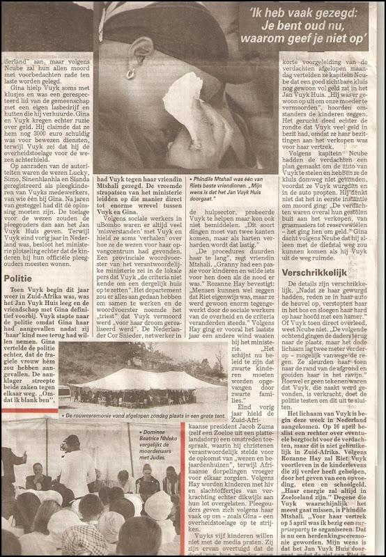 Vuyk Riet moord P3 Telegraaf Artikel Mar232012