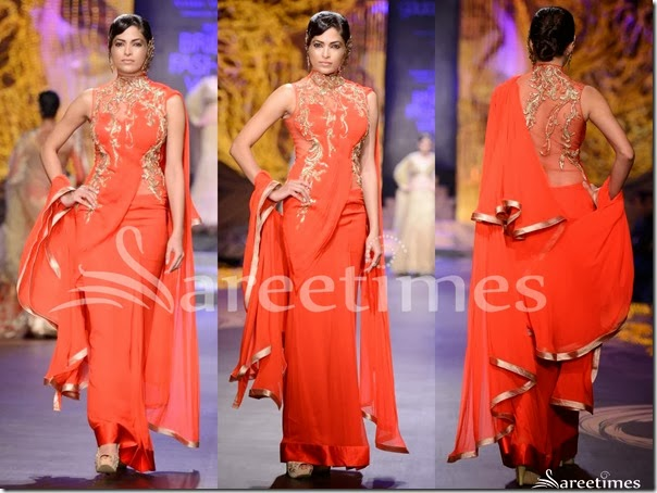 Gaurav_Gupta_Red_Saree