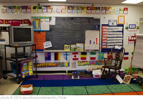 'busy walls of our second grade classroom' photo (c) 2010, woodleywonderworks - license: https://creativecommons.org/licenses/by/2.0/