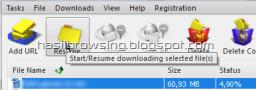 melanjutkan download mediafire 4