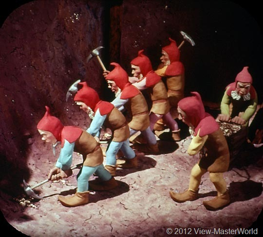 View-Master Snow White and the Seven Dwarfs (B300), Scene 10