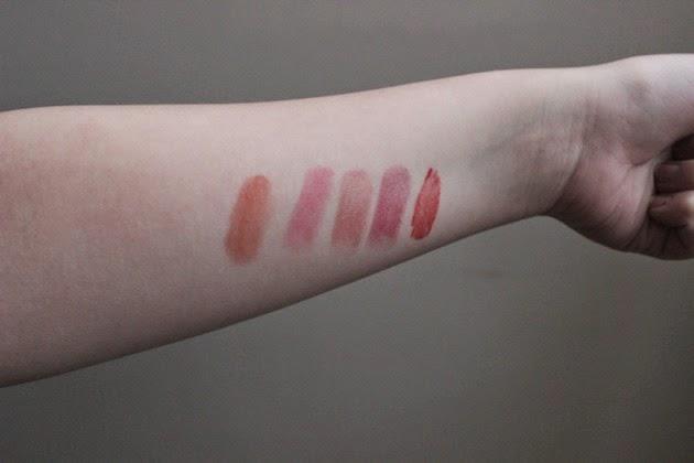 Top 5 Lipsticks