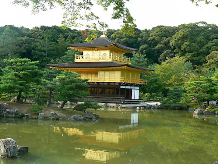 Sights of Japan: The golden temple
