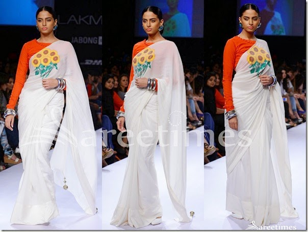 Surendry_White_Saree