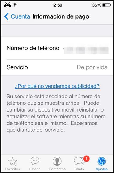 iphone pago vida