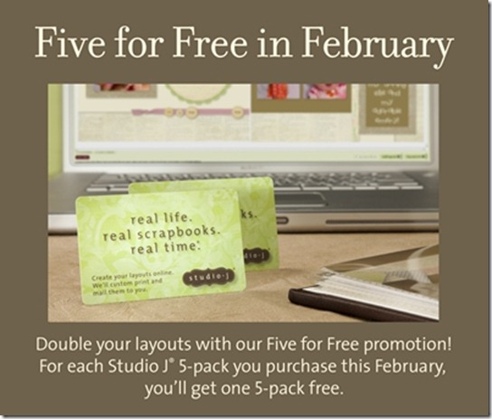 5 free studio J