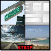 STRIP- 4 Pics 1 Word Answers 3 Letters