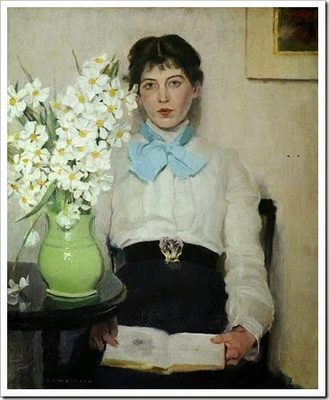 Duncan - Woman with flowers