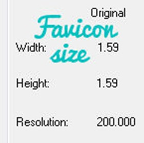 screen shot favicon size