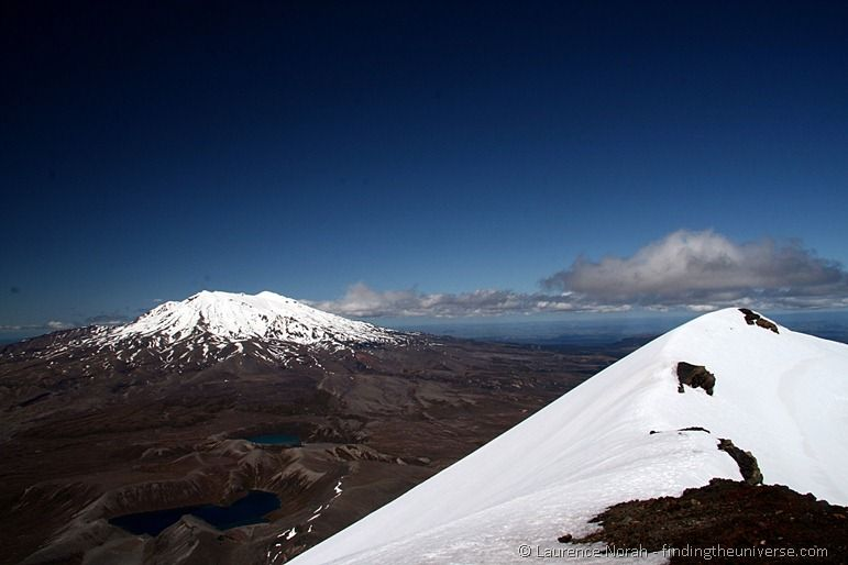 Mount Ruapehu from Mount Ngauruhoe 2