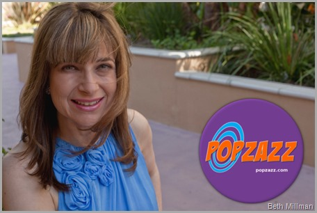 Beth Millman is the Founder and CFO (Chief Fun Officer) of Popzazz.com. CLICK to visit her site!
