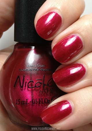 Nicole by OPI Basking in Gloria