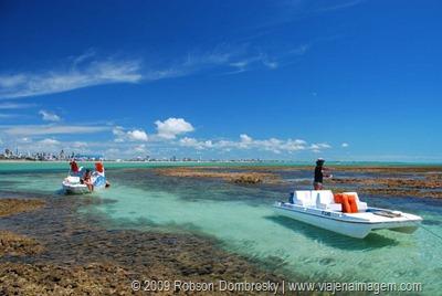 piscinas naturais com corais